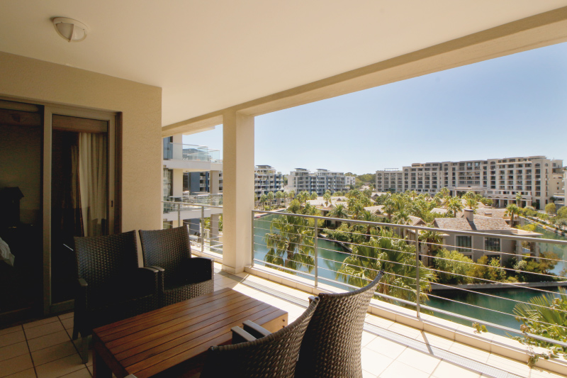 two bedroom apartment balcony