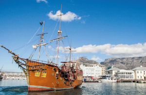 v&a waterfront boat trips