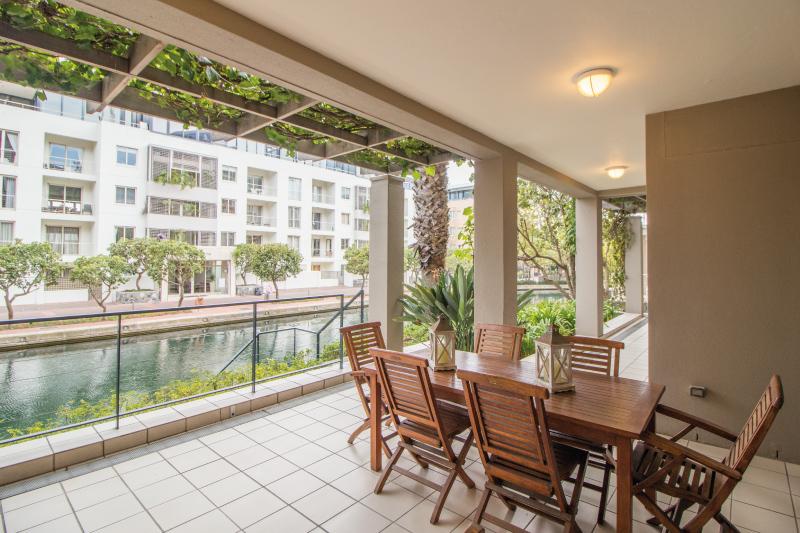 luxury two bedroom apartments patio