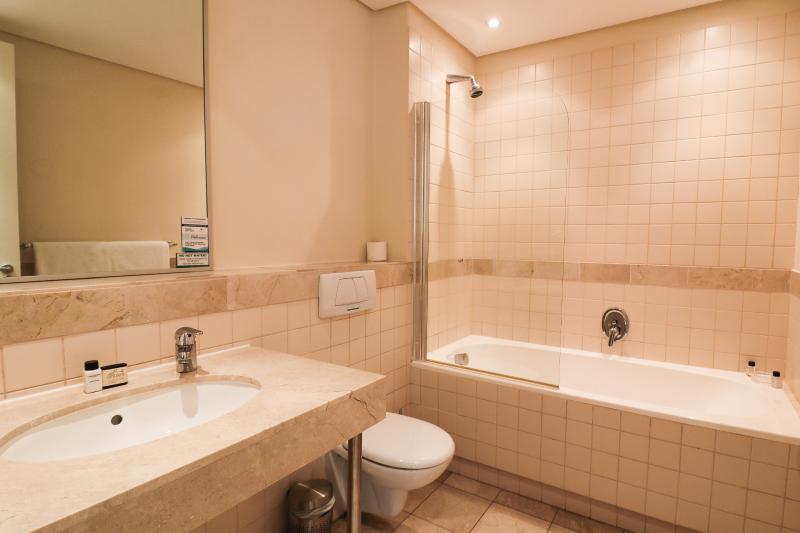 two bedroom apartments bathroom