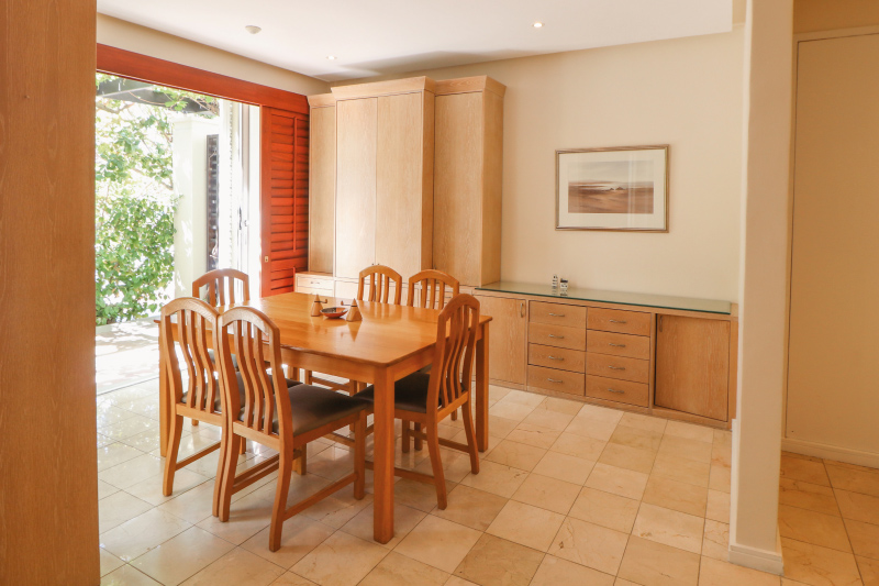 two bedroom apartments dining