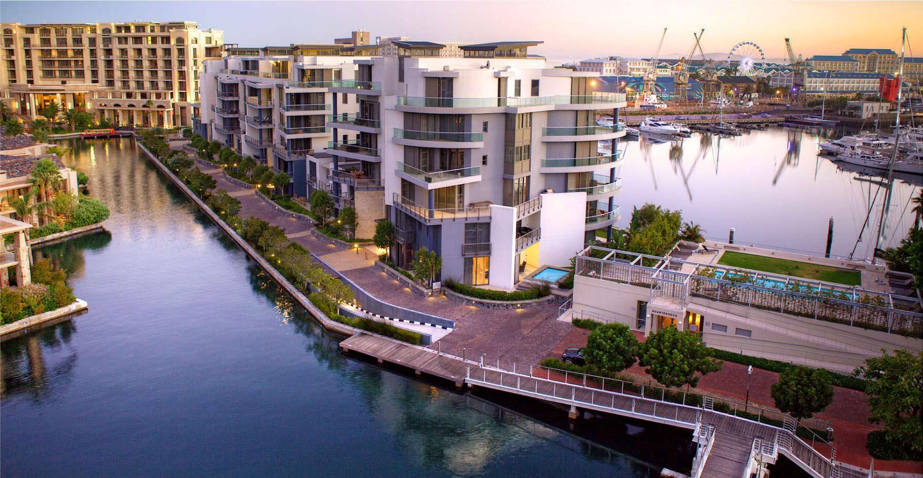 v&a waterfront accommodation